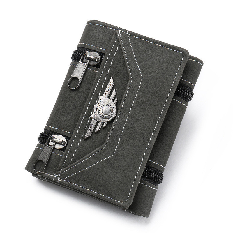 Кошелек бумажник мужской Aviator gray