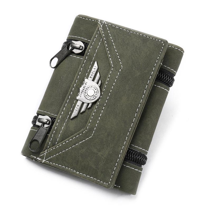Кошелек бумажник мужской Aviator green