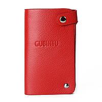 Кард-кейс кредитница Gubintu red