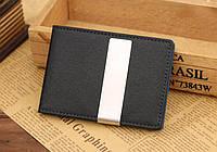 Кредитница с зажимом для денег Shield black-blue