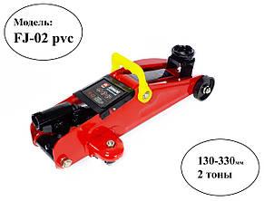 Домкрат подкатной 2т + кейс, Дорожная карта FJ-02 PVC , фото 2