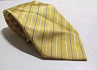 Галстук TIE RACK желтый , шелк, 8.5 см,  Новый!
