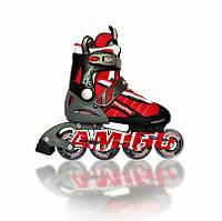 Роликовые коньки Amigo Power Flex