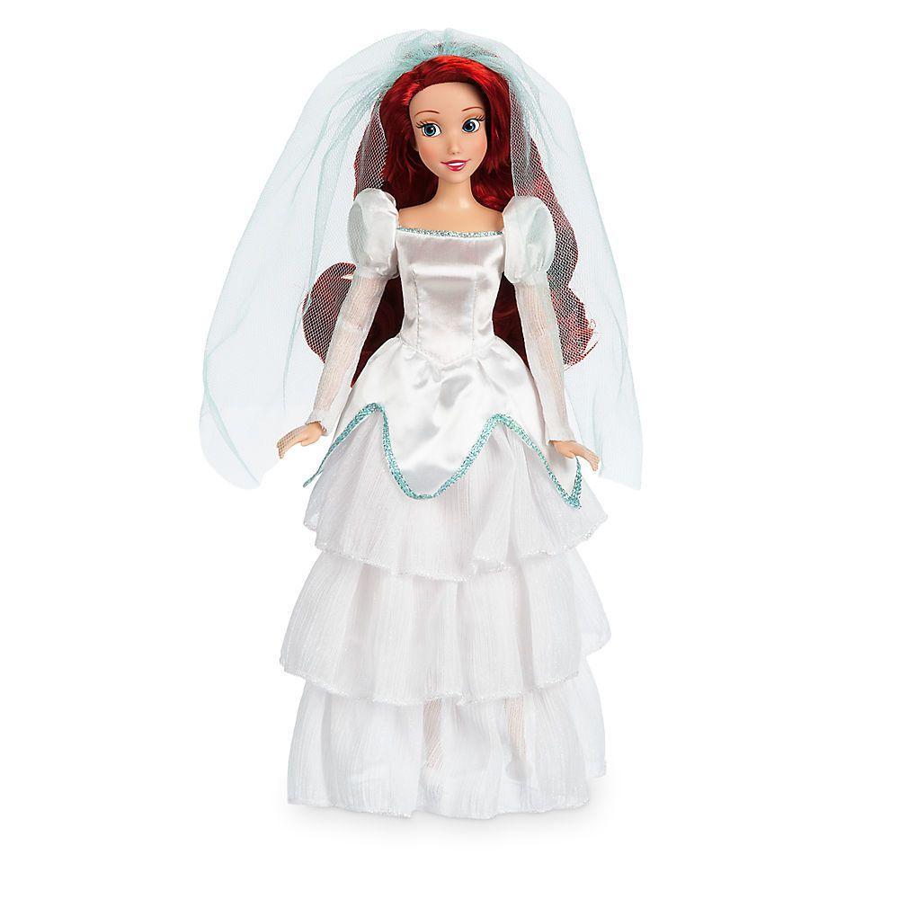 Disney классическая кукла принцесса русалочка Ариэль в свадебном платье