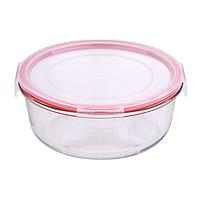 Лоток стеклянный для продуктов (1 шт./500 мл) Bergner BG-5831-RD-6
