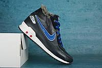 Подростковые зимние Кроссовки Nike Синие 10547