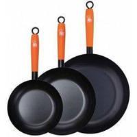 Набор сковород индукционных (20 см / 24 см / 28 см) Renberg RB-1594