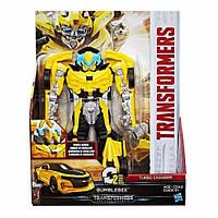 Трансформер Бамблби быстрой трансформацией 20СМ - Bumblebee, Turbo Changer Class, Hasbro