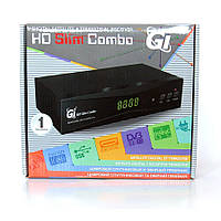 Спутниковый ресивер Galaxy Innovations GI HD Slim COMBO HD DVB-S2/T2