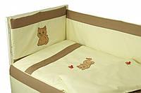 Защитное ограждение для детской кроватки Руно Рыжик