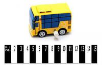 """Автобус  з мультф. """"Пригоди Тайо"""" (коробка 5 шт.) DK-03 р.7,2х4х4,6 см. /768/"""
