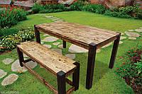 """Деревянный стол """"Завтрак в стиле кантри"""""""
