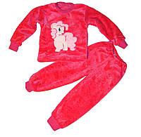 Махровые пижамы для детей. Пушистые, двойная махра.