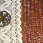 Сумка большая из итальянской соломки ручная работа кружево стразы 65см*36см на подкладке, фото 6