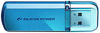 Usb 2.0 флеш silicon power 8 Гб usb helios 101 blue (sp008gbuf2101v1b)