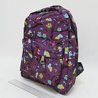 """Молодежный рюкзак с карманом Josef Otten """"Птицы"""""""