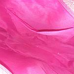 Сумка кружевная соломка летняя малиновая с цветами из содомки на подкладке 39*25 подарки, фото 8