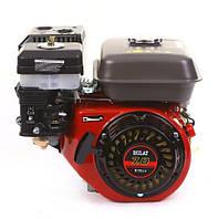 Двигатель BULAT  BW170F2-S  NEW,  7,0л.с., бак 5,0л,  вал шпонка 20мм, oil bath filter,
