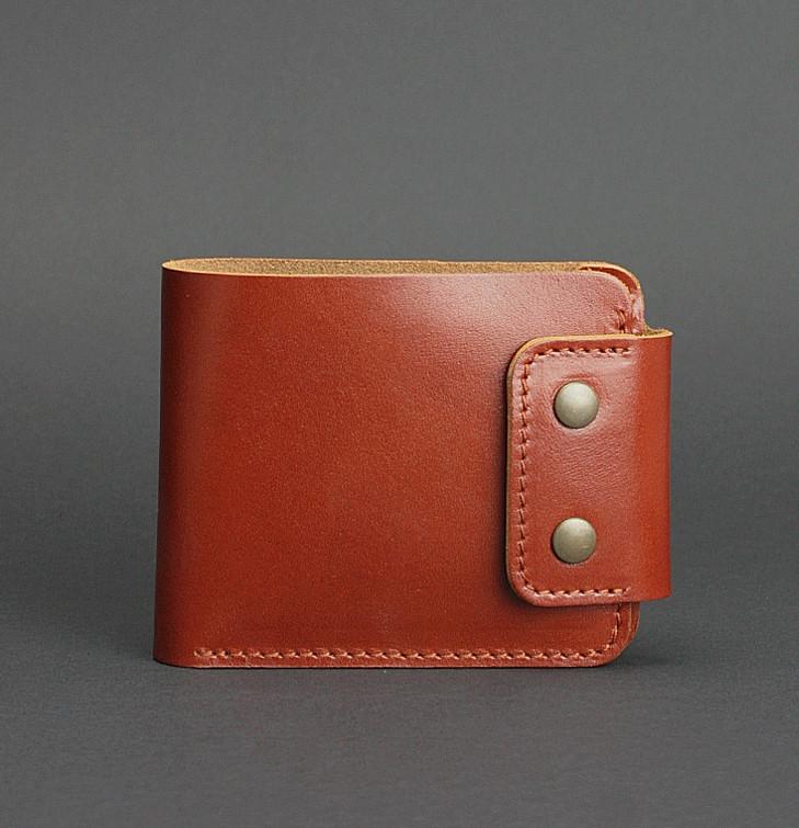Кошелек, портмоне кожаный мужской коричневый (ручная работа)