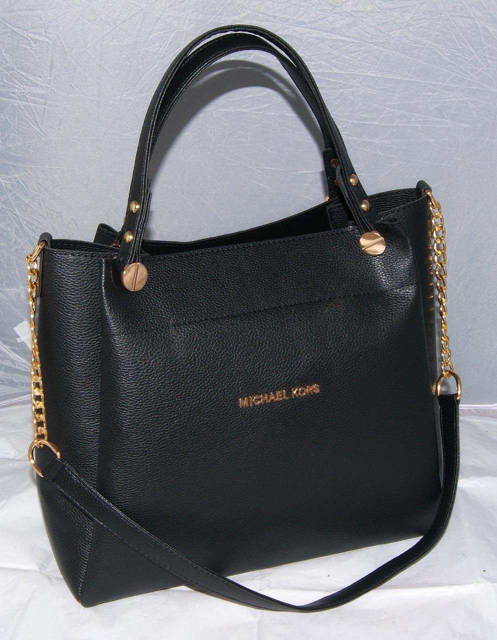 43b984728bea Женская сумка Michael Kors, цвет черный Майкл Корс MK  продажа, цена ...