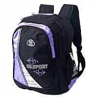 Рюкзак городской Enrico Benetti 47046646 черно/серо/фиолетовый, фото 1