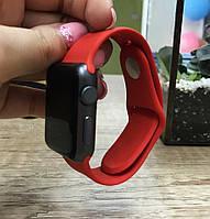 Силиконовый ремешок для  Apple Watch 38 mm красный