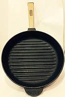 Чугунная сковорода Гриль 26*40