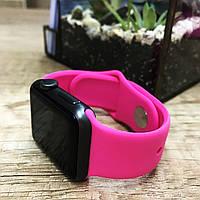 Силиконовый ремешок для  Apple Watch 42 mm розовый