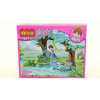 """Конструктор """"Girls"""" COGO 4517"""