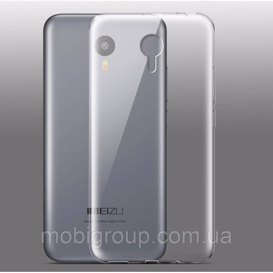Силиконовый чехол 0,3 мм Meizu M2 note