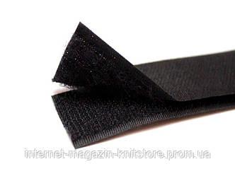 Текстильная застёжка 25мм черный