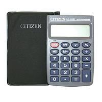 Калькулятор карманный citizen lc-110, в футляре, 8 разрядов, питание от батарейки, автоотключение, память