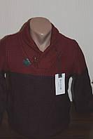Мужской вязаный свитер Sey хомут, шалевый воротник