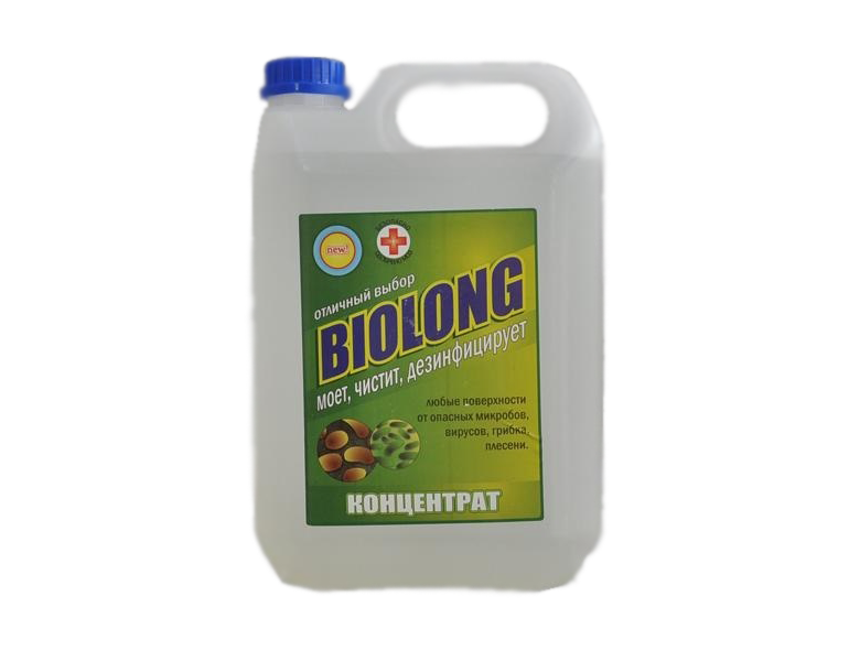 Средство для дезинфекции БиоЛонг Концентрат 100% 5л