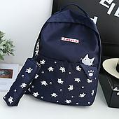 Школьный портфель с котиком 2 в 1