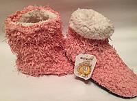 Сапожки для дома тапочки р35-37 розовые арт7165