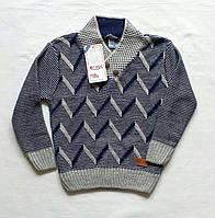 Вязаный свитер для мальчика 5-6 лет Турция