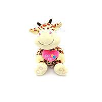 """Мягкая игрушка """"Жираф с сердцем"""""""