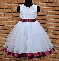 Платье  праздничное , бальное ,нарядное для девочки 4 - 6  лет