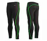 Компрессионный рашгард и штаны Emfraa, зеленый шов, фото 3