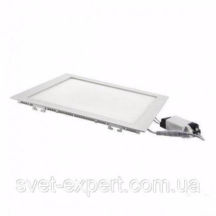 Светильник встроенный SMD  12W 4200K  LED PANEL  квадрат       , фото 2