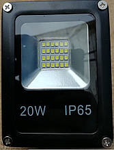 Прожектор светодиодный RIGHT HAUSEN LED 20W 6500K IP65 черный