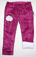 Вельветовые штаны (махра) 3,4,5,6 лет
