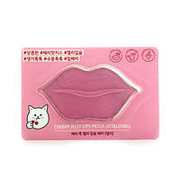 Гелевая маска для губ Etude House Cherry Jelly Lips Patch