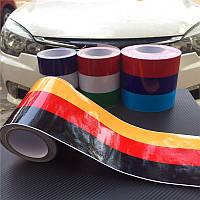 """Виниловая полоса на кузов """"флаг Германии"""", фото 1"""