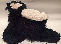 Сапожки для дома тапочки р37-39 черные арт7165