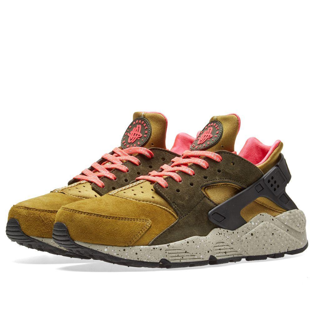 f6a96feec8ca Оригинальные кроссовки Nike Air Huarache Run Premium Desert Moss -  Sport-Sneakers - Оригинальные кроссовки
