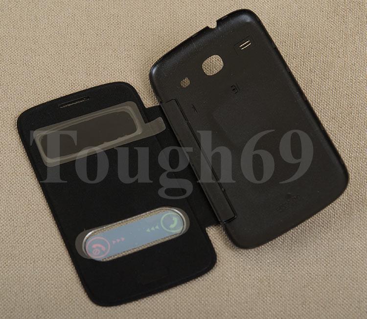 Dilux - Чехол - книжка Samsung Galaxy Core Duos I8262  черный S View Cover