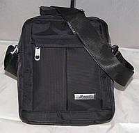 Мужская сумка мессенджер черная