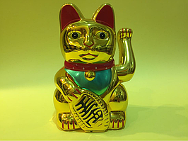 Манэки (кот удачи) 15 см